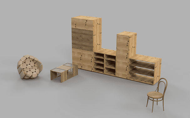 Furniture - render